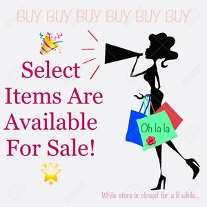 🌟 Select Items are Available For Purchase 🌟